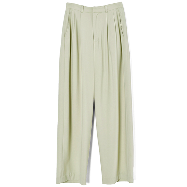 BASIC TUCK PANTS/MINT