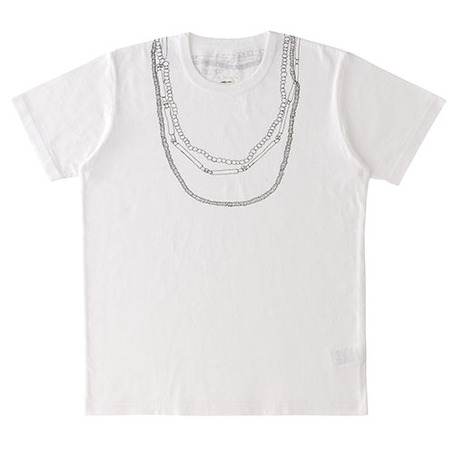 WIDE TEE S/S (NECKLACE)