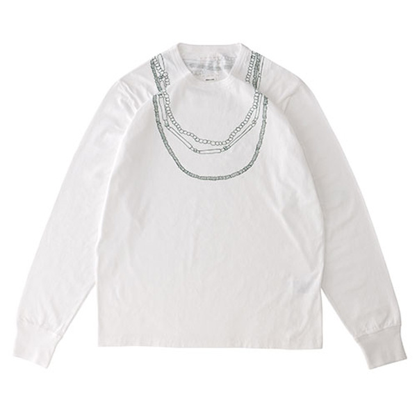 WIDE TEE L/S (NECKLACE)