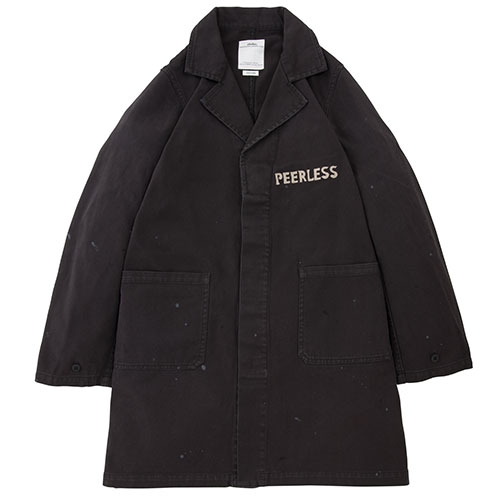PEERLESS SHOP COAT/BLACK