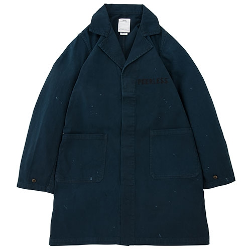 PEERLESS SHOP COAT/NAVY