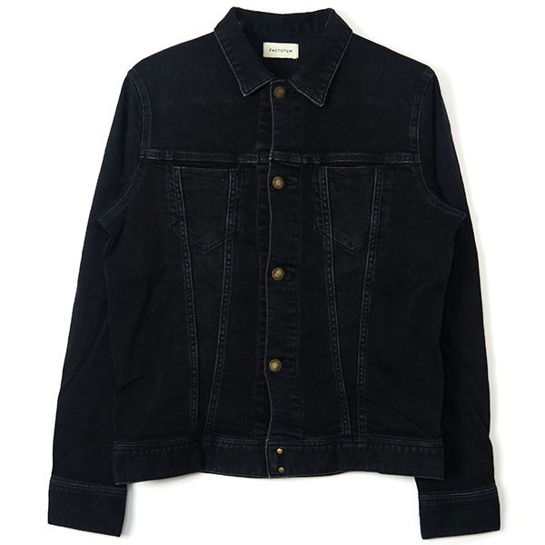 E REGULAR DENIM BLOUSON/BLACK