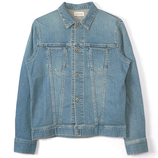 E REGULAR DENIM BLOUSON/LIGHT INDIGO