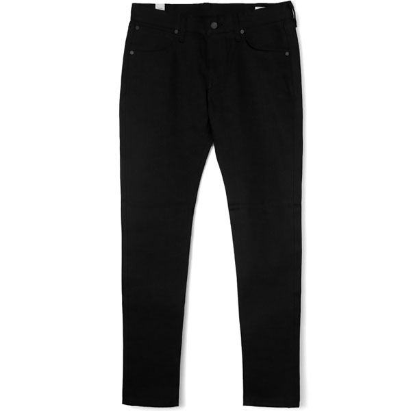 "RIGID DENIM SKINNY ""William""/BLACK"