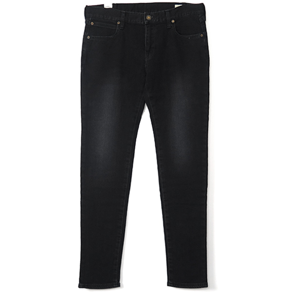 "E REGULAR DENIM SKINNY ""William""/BLACK"