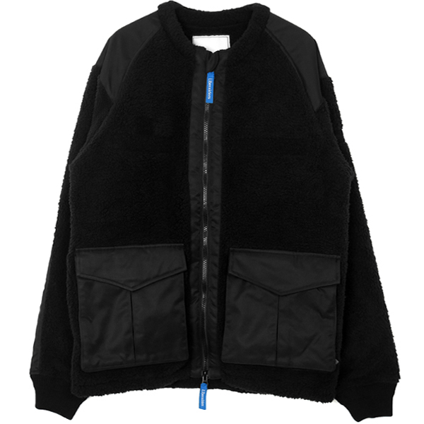 TACTICAL FLEECE JACKET/BLACK