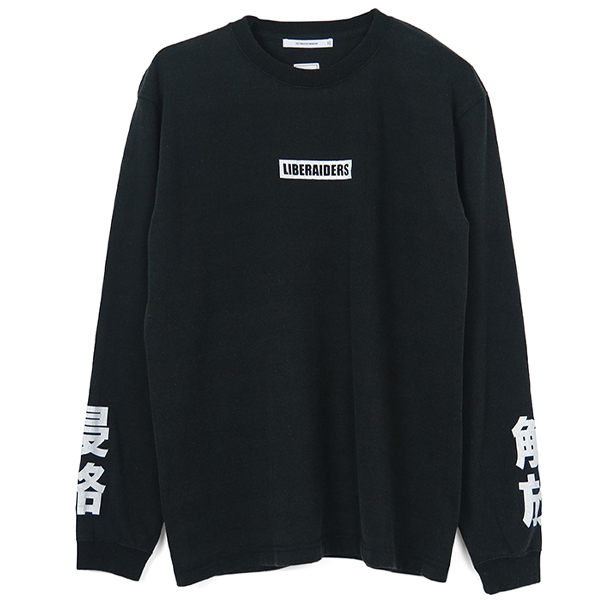 LIBERAIDERS L/S TEE/BLACK