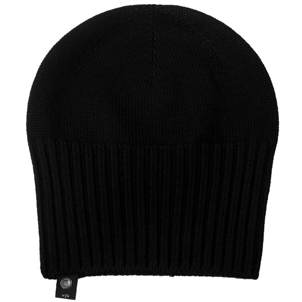 2-way knit cap/black
