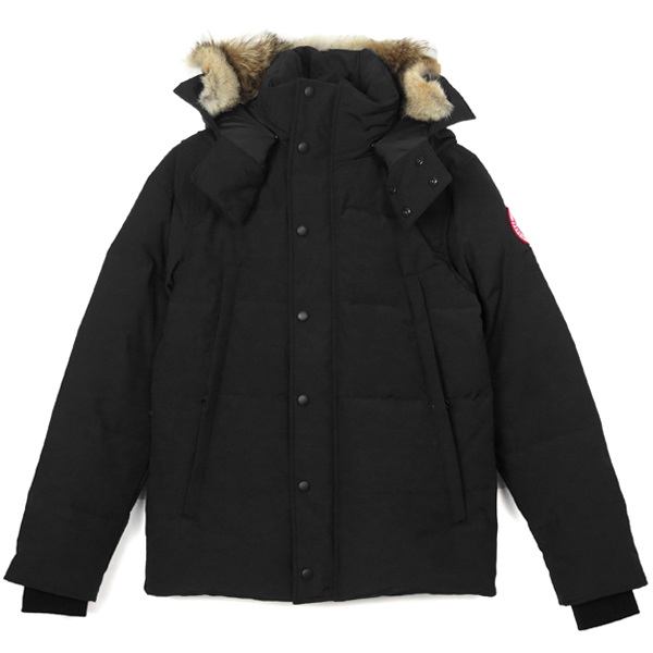 WYNDHAM PARKA FUSION FIT/BLACK