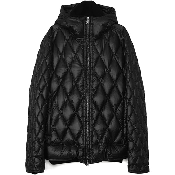 HOODED DIA SKI/BLACK