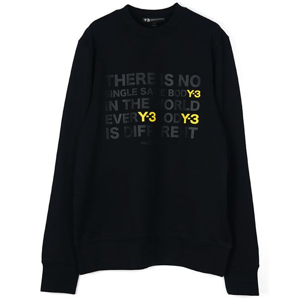 M ARTWORK SWEATER/BLACK/YELLOW