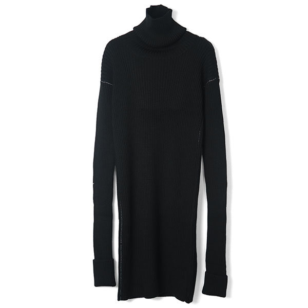 Turtle Knit OP/BLACK
