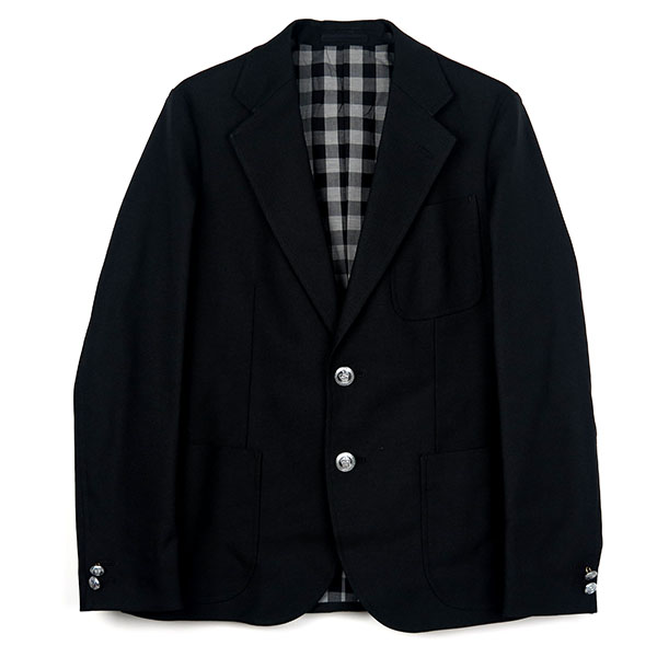 NEW HOPSACK JACKET/BLACK(STRETCH FABRIC)(TSJJ-84402-01)
