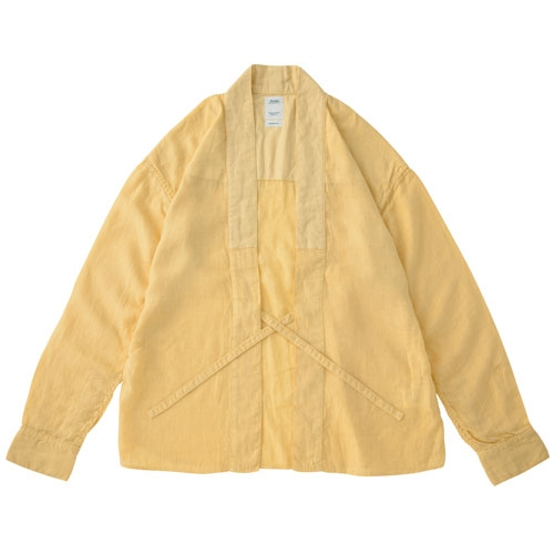 【ポイント10倍】LHAMO SHIRT (LINEN)/YELLOW