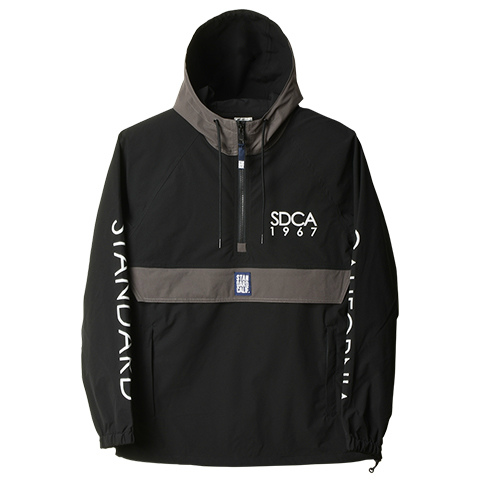 SD Stretch Rip Stop Anorak Track Jacket