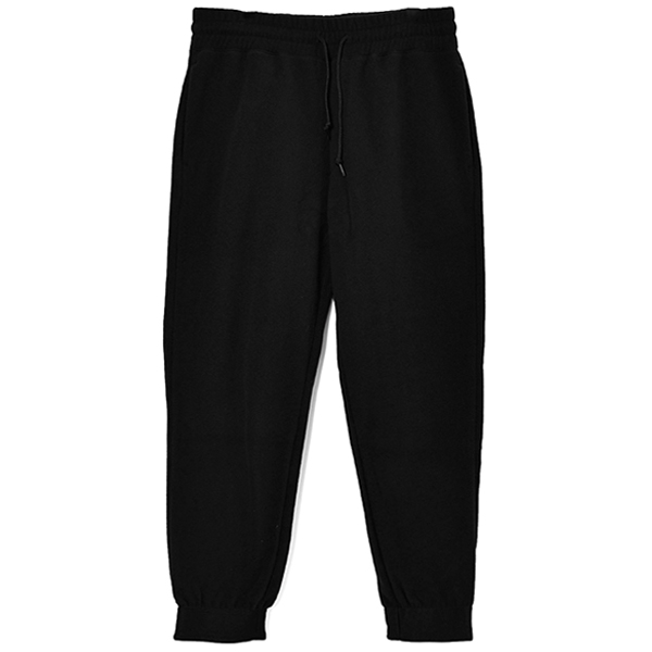 FLEECE PANTS/BLACK