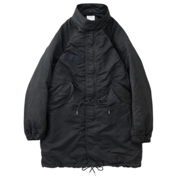 SIX FIVE FISHTAIL PARKA /BLACK