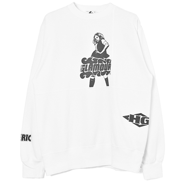 VIXEN SCRATCH SWEAT/DIRTY WHITE