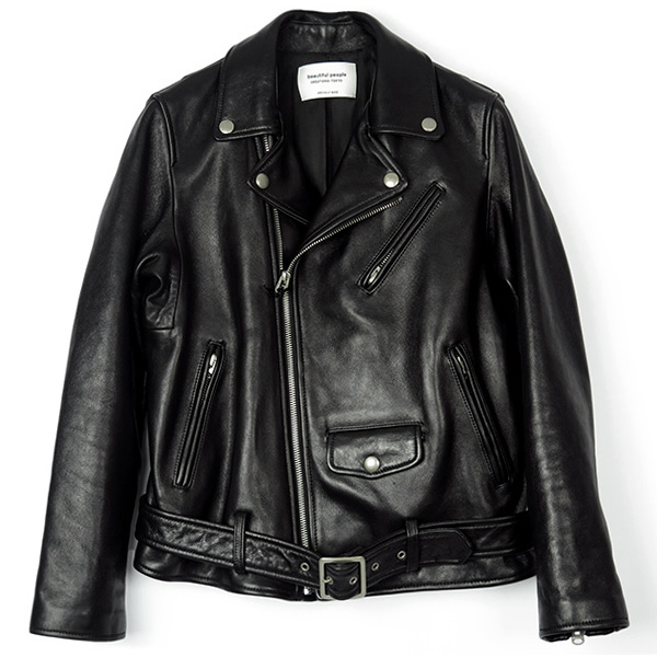 vintage leather riders jacket