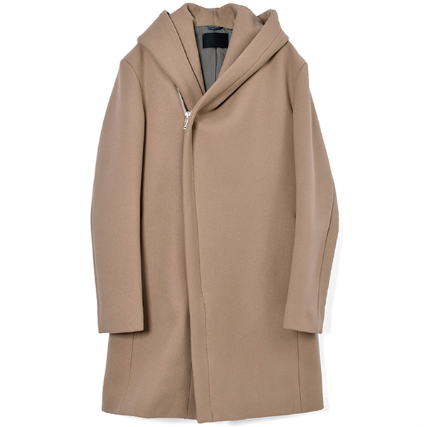 WRAP COAT/BEIGE