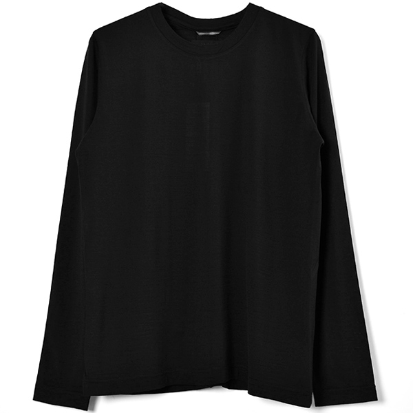 SERIBU CREW NECK L/S/BLACK