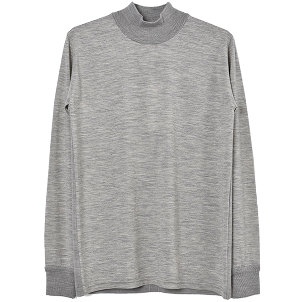 SERIBRID MOCK NECK/GRAY