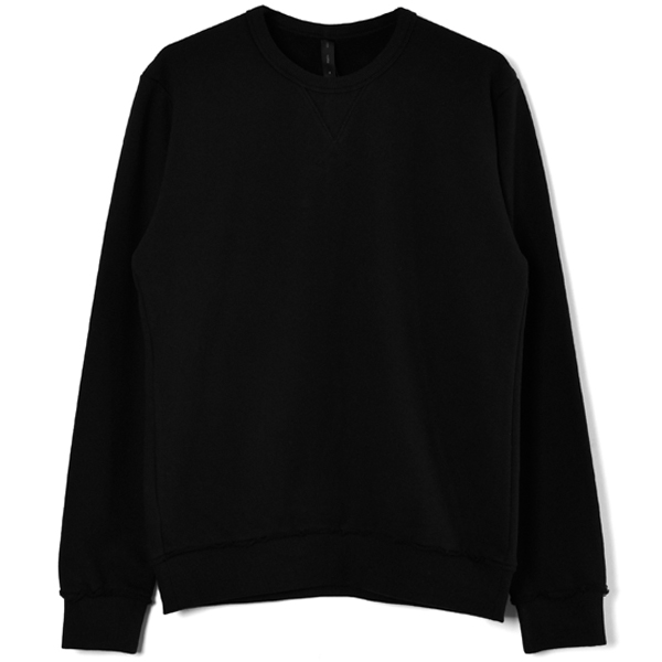 gusset sweat/black