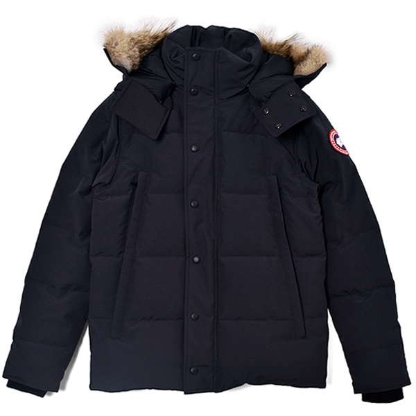 WYNDHAM PARKA FUSION FIT/NAVY