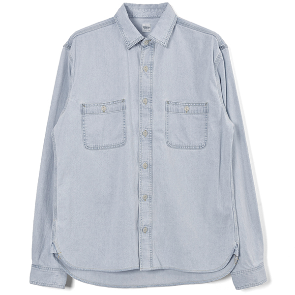 DENIM WORK SHIRTS/BLUE