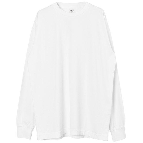 SVIN COMPACT L/S TEE/OFF WHITE