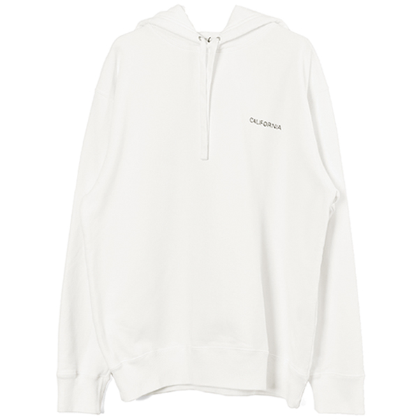 CAL SWEAT/WHITE