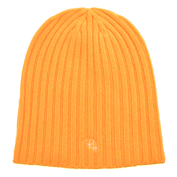 RH CASHMERE BEANIE/ORANGE