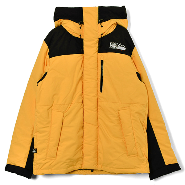 MAURI Down Parka/YELLOW