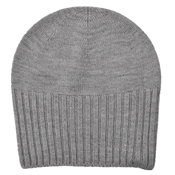 2-way knit cap/gray
