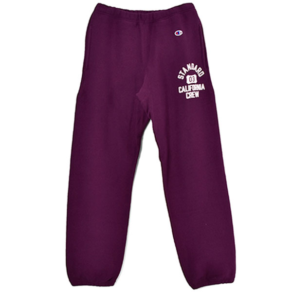 Champion × SD Reverse Weave Sweat Pants/PURPLE