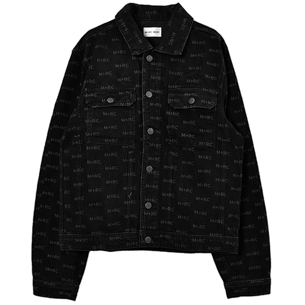 HATE DENIM JACKET/BLACK