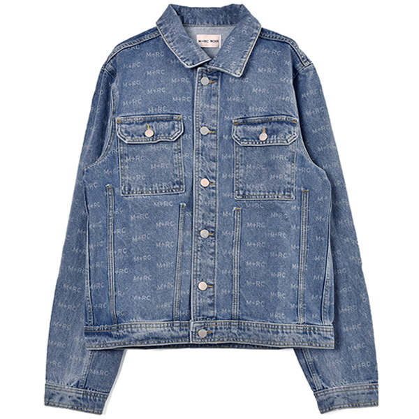 HATE DENIM JACKET/BLUE