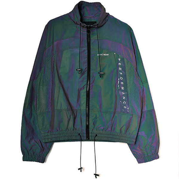GHOST BLACK RAINBOW TRACK JACKET