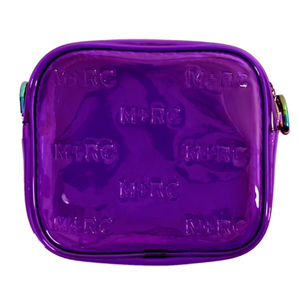 PVC BAG/PURPLE