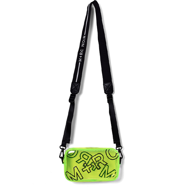 OVERDUE SHOULDER BAG/NEON YELLOW