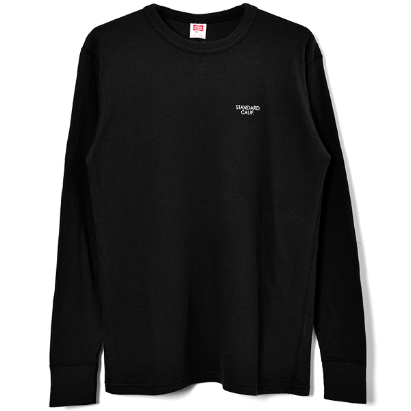 SD 2 Layer Small Logo Long Sleeve/BLACK