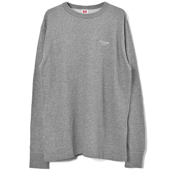 SD 2 Layer Small Logo Long Sleeve/GRAY