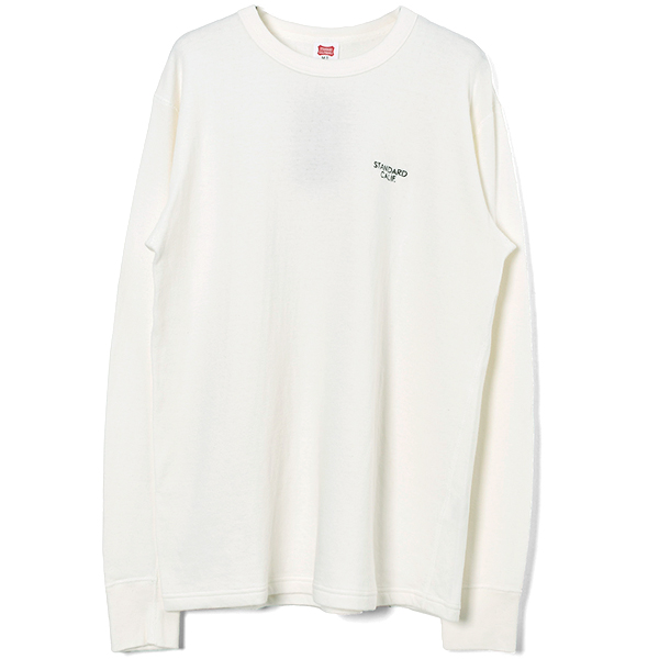 SD 2 Layer Small Logo Long Sleeve/WHITE