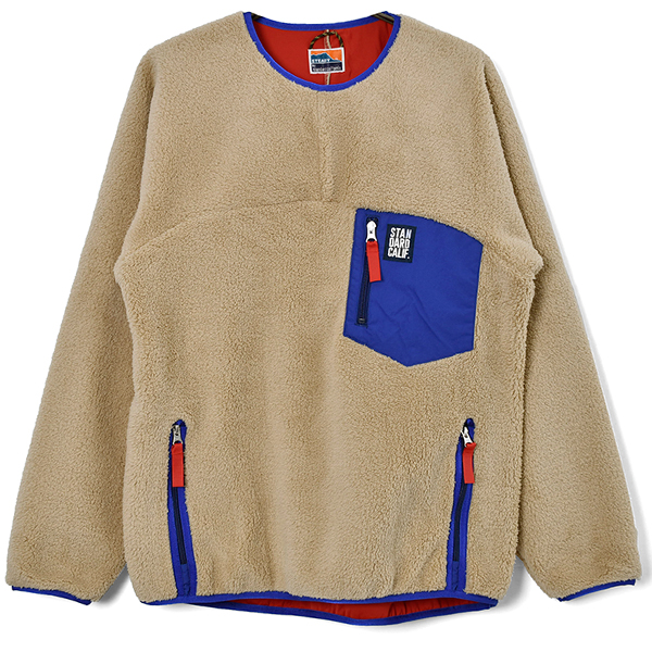 SD Classic Pile Pullover / DLS L+2/BEIGE