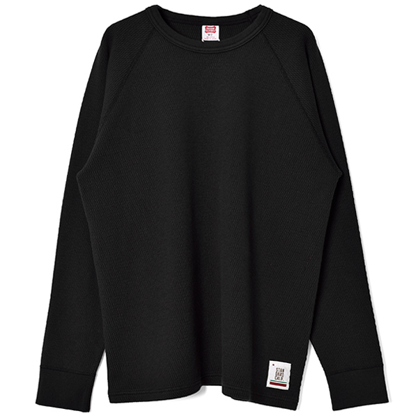 SD Heavyweight Honeycomb Thermal Long Sleeve/BLACK