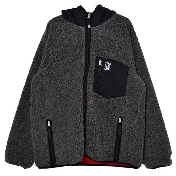 SD Heavy Classic Pile Jacket / DLS L3/CHARCOAL