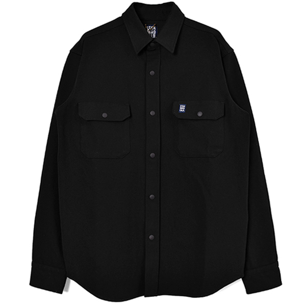 SD Thermolite Stretch Work Shirt/BLACK