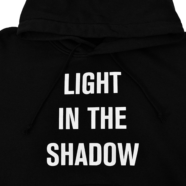 HOODIE LIGHT IN THE SHADOW/BLACK