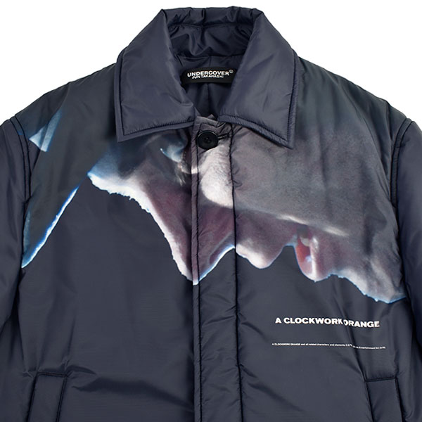 CLOCKWORK ORANGE 中綿コート/NAVY