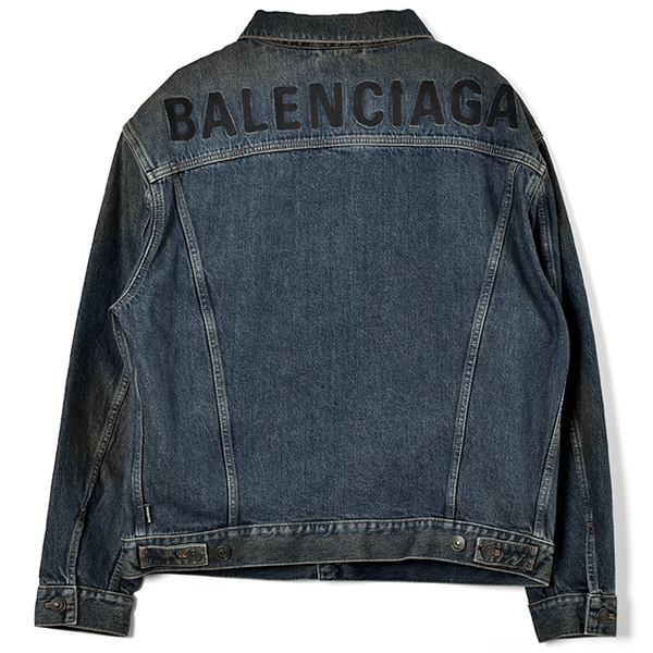 BACK LOGO DENIM JACKET/INDIGO